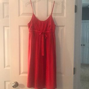 Fossil red dress